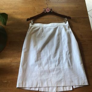 Vintage Escada Margaretha Ley white skirt